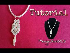 Macrame Celtic Necklace - Pendant ♥ DIY ♥ - YouTube