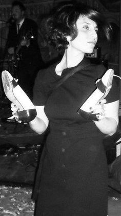 Francesca Capri. Check out her board and vote! http://pinterest.com/ladycavicchia/falling-in-love-with-italian-shoes-contest/