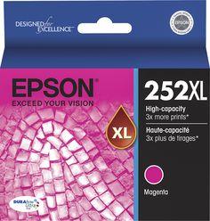Epson - 252XL High Yield Ink Cartridge - Magenta (Pink)