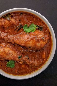 Chettinad Chicken Curry Recipe | The take it easy chef