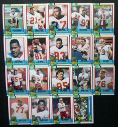 1990 Topps Washington Redskins Team Set of 19 Football Cards Mark Rypien, Football Cards, Baseball Cards, Team Leader, Washington Redskins, History, Ebay, Soccer Cards, Historia