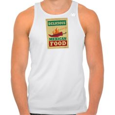 Mexican Food New Balance Running Tank Top Tank Tops