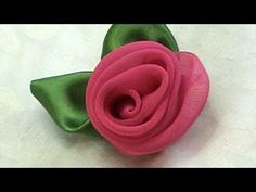 A New Version Tutorial How to Make Fabric Flower Rose, DIY   Chiffon Fabric FLower Rose, Tutorial DIY, a New Version,    Please visit our shop at http://daisyclub.etsy.com/     Our web site: http://daisyclubcrafts.com/        Music:  Starry Kevin MacLeod (incompetech.com)  Licensed under Creative Commons: By Attribution 3.0  http://...