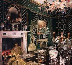 Princes Firyal's Dining Room. Renzo Mongiardino
