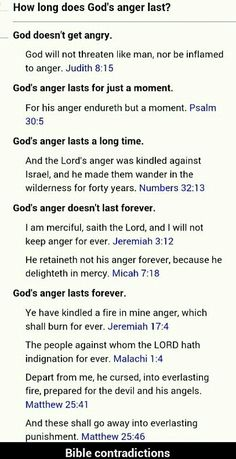 Bible contradictions ---Ahhh... here's a few mor for you....trust me, there's plenty.