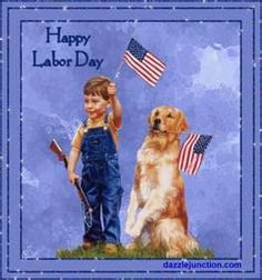 Image result for vintage happy labor day