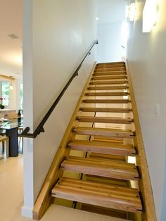Best Parallam Stair Treads Stringer Remodel Pinterest 400 x 300