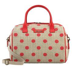 Button Spot Embroidered Spot Bowler Bag | Handbags | CathKidston