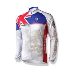 fa53564ae Cycling clothing Cycling clothing 2013 Men s Cycling Thermal Long Sleeves  Jerseys-England Lion - Ecyclingmall