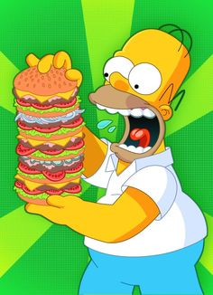 Here is a simple painting/drawing of Homer Simpson from the TV show 'The Simpsons'. The Simpsons Guy, Simpsons Art, Cartoon Clip, Food Cartoon, Homer Simpson, 1980 Cartoons, Simpsons Drawings, Animal Art Projects, Harley Quinn Comic
