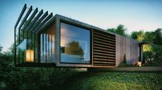 Shipping Container Office by Patrick Bradley