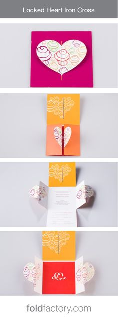 Elegant Cross Wedding Invitation - Ecru wedding invitations