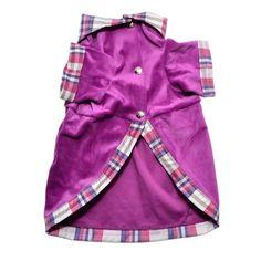 Vestido Paris Roxo Pickorrucho's - MeuAmigoPet.com.br #petshop #cachorro #cão #meuamigopet