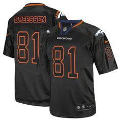 Denver Broncos jersey-Nike Denver Broncos #18 Peyton Manning Name nNumber NFL T-Shirt - Black