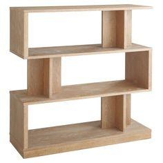 Sunpan Morrissey 3 Shelf Bookcase - 8021