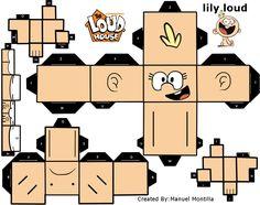 Papercraft Lily Loud by sybergamer16.deviantart.com on @DeviantArt