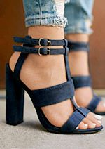 Cheap sandal ankle, Buy Quality strap heels directly from China sandals ankle strap Suppliers: Summer Women's sandals Square Heel Navy Female High Heels Women's Shoes Woman Sandals Ankle Strap Heels Lace Up Heels, Ankle Strap Heels, Ankle Straps, Pumps Heels, Stiletto Heels, Heeled Sandals, Lace Shoes, Dress Shoes, Heeled Boots