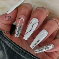 Glam Nails, Bling Nails, Fabulous Nails, Gorgeous Nails, Stylish Nails, Trendy Nails, Luxury Nails, Fire Nails, Best Acrylic Nails