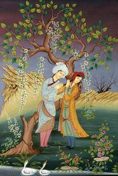 Aşk gönlün ilk baharıdır, aşksızların mevsimi kış ve soğuktur, kardır.