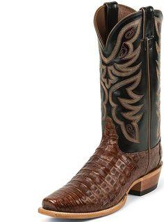 Nocona Boots Cognac Caiman MD8603, $502.00