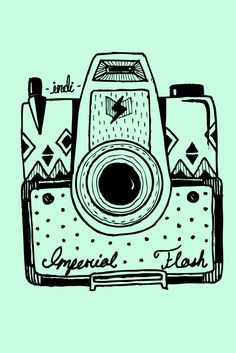 VINTAGE CAMERAS (wallpapers for iPhone or iPod) by Indi Maverick, via Behance