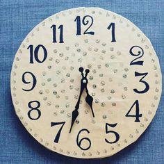 Clock, Wall, Home Decor, Teaching Ideas, Watch, Homemade Home Decor, Clocks, Decoration Home, The Hours