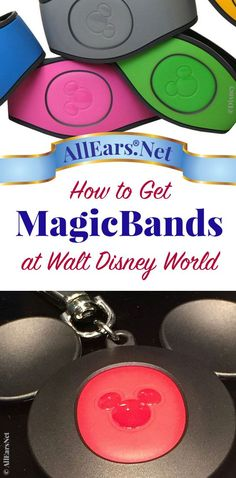 MagicBands at Walt Disney World - AllEars. Disney World 2017, Disney World Secrets, Disney World Parks, Disney World Planning, Walt Disney World Vacations, Disney Resorts, Disney World Tips And Tricks, Disney Tips, Disney Magic