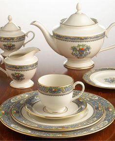 "Lenox ""Autumn"" Dinnerware - Fine China - Dining & Entertaining - Macy's"