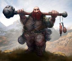 male dwarf Motumbo Grifter by mattforsyth on DeviantArt