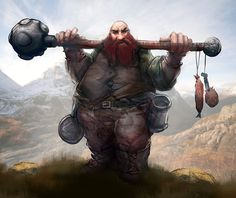 male dwarf  Motumbo Grifter by mattforsyth on DeviantArt