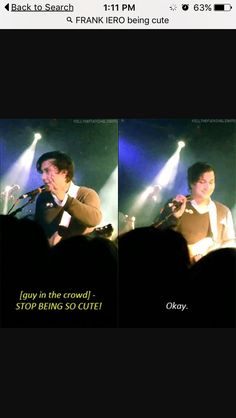 that guys is me bUT ITS IMPOSSIBLE FOR HIM TO NOT BE ADORABLE HE IS FRANK IERO