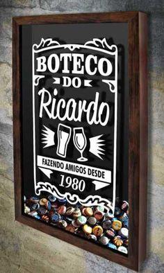 DECOR TAMBOR DE AO COM TAMPO MADEIRA Jack Daniels Usando