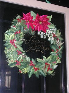 donna dewberry one stroke painting images - Yahoo Image Search Results Christmas Paintings, Christmas Art, Xmas, One Stroke Painting, Painting & Drawing, Donna Dewberry Painting, Decoupage, Tole Painting Patterns, Art Design