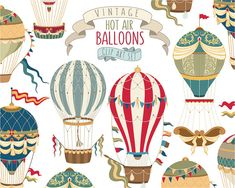 This listing is for a set of 6 beautifully detailed vintage hot air balloons and 2 vintage banners. Perfect for use in scrapbooking, party invitations, nursery prints, greeting cards, decorations, and much more! ≈≈≈≈≈≈≈≈≈≈≈≈≈≈≈≈≈≈≈≈≈≈≈≈≈≈≈≈≈≈≈≈≈≈≈≈≈≈ ITEMS INCLUDED IN INSTANT DOWNLOAD- ≈≈≈≈≈≈≈≈≈≈≈≈≈≈≈≈≈≈≈≈≈≈≈≈≈≈≈≈≈≈≈≈≈≈≈≈≈≈ • 8 X-Large 300 DPI PNG files with transparent backgrounds - each measuring approximately 20X20 inches (6000X6000 px) • 8 X-Large 300 DPI JPG Files - each measuring…