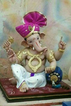 Ganesha Painting, Ganesha Art, Ganesh Lord, Ganesh Idol, Shree Ganesh, Cute Paintings, Durga Goddess, Kids Room Art, Chess