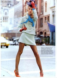 Kirsty Hume | Photography by Steven Meisel | For Vogue Magazine US | September 1994