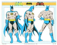Superhero Style Guides by Jose Luis Garcia-Lopez