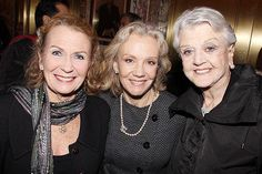 Juliet and Hayley Mills with Angela Lansbury