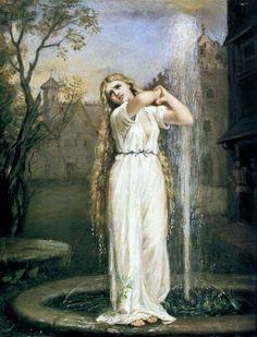 Undine by John William Waterhouse, 1872