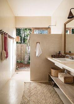 home interior design idea trendy bathroom / powder room decor Bathroom Interior Design, Home Interior, Interior Design Living Room, Bad Inspiration, Bathroom Inspiration, Beautiful Bathrooms, Small Bathroom, Bathroom Ideas, Modern Bathroom