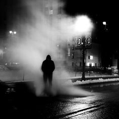 At Night Photography Series By Andreas Levers Landscaping - City streets glow in eerie night time photographs by andreas levers