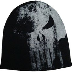 7f9685af Punisher Logo Arsenal Reversible Knit Beanie bioworld. $14.09