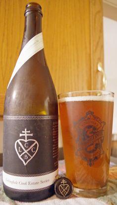 Rosemary Saison Virginia Farmhouse Ale - Lickinghole Creek Estate Series - 06/20/2015 Release - - Poured at last!