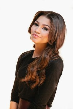 Zendaya Coleman with some shorter hair, she can pull off the biracial…