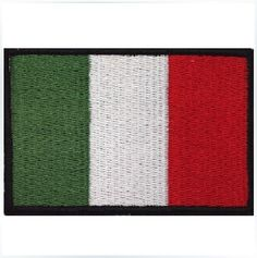 Italy Flag Velcro Patch