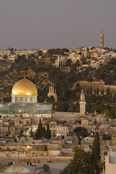 ✭ Dome of the Rock and the Mount of Olives - Jerusalem, Israel
