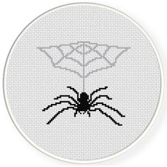 FREE Spider's Lair Cross Stitch Pattern