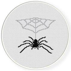 FREE Spider's Lair Cross Stitch Pattern