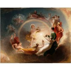 Benjamin West, Apollo's Enchantment, 1807, oil on canvas, Dallas Museum of Art, gift of Mrs. Robert A. Beyers
