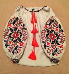 ukrainian embroidered blouse vyshyvanka bohemian by UkrNational
